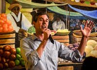 """<p><span style=""""font-size: 1em; background-color: transparent;"""">Presidential candidate Beto O'Rourke participated in a roundtable with local politicians at the aptly named El Paso Mexican Grill in Dumfries, Va., last week. (Bill O'Leary/The Washington Post)</span></p>(Bill O'Leary/The Washington Post)"""