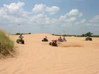 Little Sahara State Park is roughly a five-hour drive from Dallas.(Keli Clark/Oklahoma Tourism)