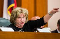 Senate Finance Committee Chairwoman Jane Nelson, ignoring pushback, is pressing for a $5,000 a year, across the board pay raise for teachers and school librarians.(File 2019/Ashley Landis)