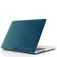 Toast Leather Laptop Cover(Toast)