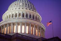 """<p>The dome of the Capitol is seen at sunrise in Washington, D.C. Morning is a great time&nbsp;<span style=""""font-size: 1em; background-color: transparent;"""">for photographers: The morning sun shines brilliantly against the Capitol dome, which finished an extensive restoration in 2017.</span></p>(Cliff Owen/The Associated Press)"""