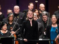 "<p><span style=""font-size: 1em; background-color: transparent;"">Former Dallas Symphony assistant conductor </span><strong style=""font-size: 1em; background-color: transparent;"">Ruth Reinhardt&nbsp;</strong><span style=""font-size: 1em; background-color: transparent;""></span><span style=""font-size: 1em; background-color: transparent;"">will lead the</span><span style=""font-size: 1em; background-color: transparent;"">&nbsp;June concert to benefit the orchestra's newly created Hardship Fund.</span></p>(Rex C Curry/Special Contributor)"
