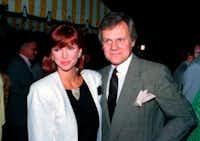 Victoria Principal and Ken Kercheval(1986 File Photo/The Associated Press)
