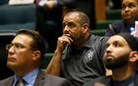 <div>Mike Mata, president of the Dallas Police Association says his biggest concern is ensuring that officers have due process during investigations.</div>(Vernon Bryant/Staff Photographer)
