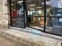 "<p><span style=""font-size: 1em; background-color: transparent;"">Trisha Boner fled again and crashed into an AT&amp;T store in the 400 block of Grapevine Highway in Hurst, police said.</span></p>(North Richland Hills Police Department)"