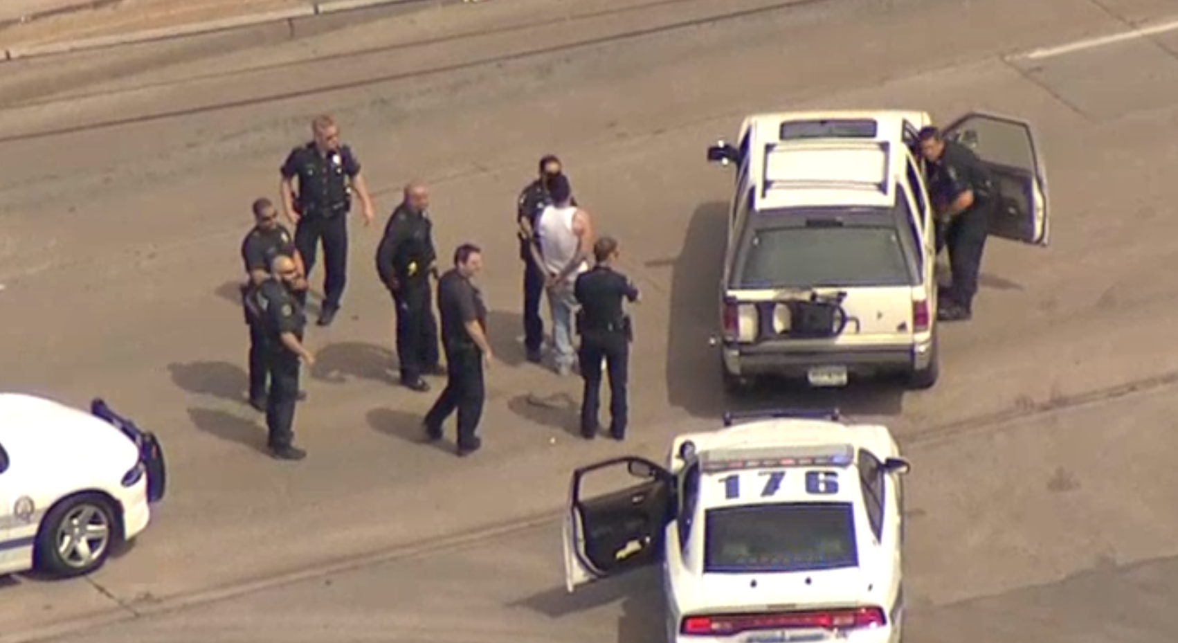Theft suspect led police on chase from Mesquite to Dallas, authorities say