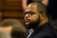 State Rep. Eric Johnson of Dallas wants to take elected officials out of the affordable housing tax credit awards process to avoid the potential for bribery like the case that ensnared former Dallas City Council member Carolyn Davis, who pleaded guilty to taking bribes last month.(Ashley Landis/Staff Photographer)