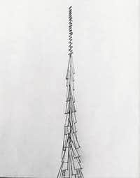A sketch by writer and critic Scott Cantrell of his idea for a new spire for Notre Dame(Scott Cantrell)