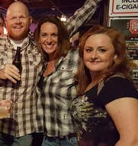 Robert and Cathy Lindsey and Susan Law (right) partied at a January 2017 concert at Billy Bob's Texas in Fort Worth.(Courtesy/Cathy Lindsey)