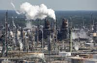 """<p><strong style=""""font-size: 1em; background-color: transparent;"""">Cenikor sent</strong> participants to work at an Exxon refinery in Baton Rouge, among other places.&nbsp;(Julie Dermansky/for Reveal)</p>"""