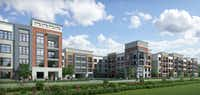 Palladium USA plans to build 300 apartments at RedBird Mall.(Palladium USA)