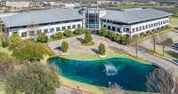 The office campus was built in 1998 as the headquarters of Dr Pepper.(CBRE)