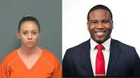 Amber Guyger was indicted Nov. 30 for  murder in the shooting death of Botham Jean. Guyger shot and killed Jean Sept. 6 when she said she mistook his apartment for hers and thought he was a burglar. Guyger, a Dallas police officer at the time, was off-duty but in uniform when she killed Jean.(Mesquite Police Department, via Instagram)