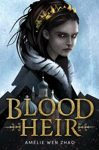 A revised edition of Amelie Wen Zhao's <i>Blood Heir</i>, which was postponed earlier this year amid criticism on social media, will be coming out in November.(Delacorte Press)