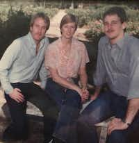 """<p><span style=""""font-size: 1em; background-color: transparent;"""">Joshua Whitfield's uncle Damong Drake is on the right, with his mother and another uncle.&nbsp;</span></p>(via Joshua Whitfield)"""