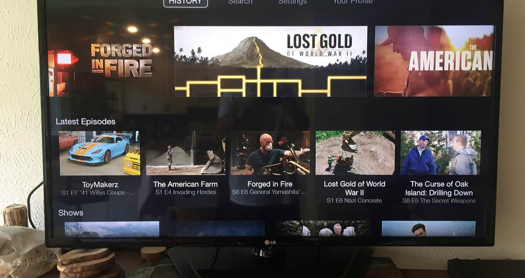 A&E, History Channel, Lifetime still available to DirecTV