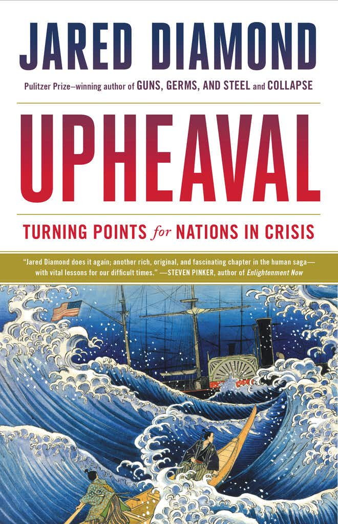 Pulitzer Prize-winning author Jared Diamond to discuss new book, 'Upheaval,' in Dallas on May 13
