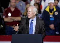 Texas Sen. John Cornyn remains the favorite to win re-election in 2020, though Texas Democrats are eager to unseat him. <br>(Eric Gay/The Associated Press<br>)