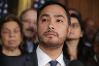Rep. Joaquin Castro on Wednesday revealed he will not mount a bid for U.S. Senate in 2020. (Chip Somodevilla/Getty Images/TNS)
