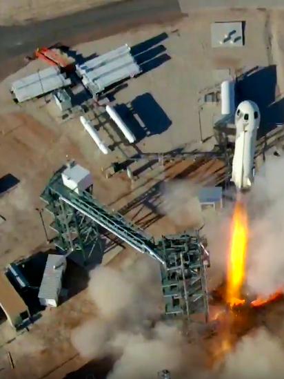 Jeff Bezos' Blue Origin sets company records with new West Texas