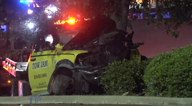 Tow truck driver dies in I-35E crash in Stemmons Corridor | Traffic