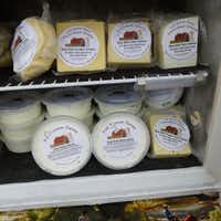Truth Hill Farm brings Full Quiver Farms cheeses and spreads to the Rockwall Farmers Market along with its pastured beef.(Kim Pierce)