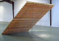Tom Orr's <i>STAIRS </i>stems from the Dallas artist's interest in common elements of architecture taken out of context.(Barry Whistler Gallery)