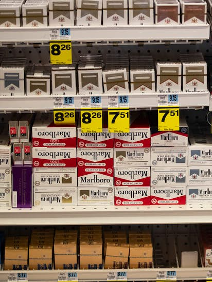 Walmart raises tobacco purchase age to 21 and discontinues sweet