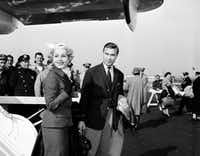 "<p>Actress Zsa Zsa Gabor and Porfirio Rubirosa arrive together at New York's international airport. Rubirosa's <span style=""font-size: 1em; background-color: transparent;"">purported lovers included Gabor, Marilyn Monroe, Eva Perón, Eartha Kitt, Ava Gardner, Rita Hayworth, Veronica Lake, Joan Crawford, Kim Novak and Judy Garland, not to mention his five wives.</span></p>(The Associated Press/1954 File Photo)"