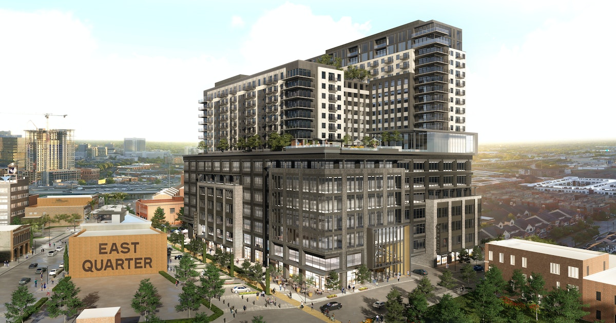 Developer clears downtown Dallas site for East Quarter mixed-use high-rise...