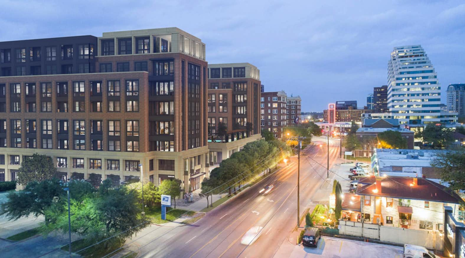 New building would be next door to Dallas' landmark Melrose Hotel