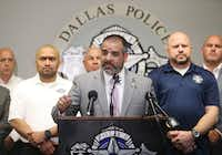 """<p><span style=""""font-size: 1em; background-color: transparent;"""">""""When it comes to making Dallas a safer place, Scott Griggs is, by far, the superior candidate,"""" Dallas Police Association President Mike Mata said in a prepared statement.</span></p>(File Photo/Rose Baca)"""