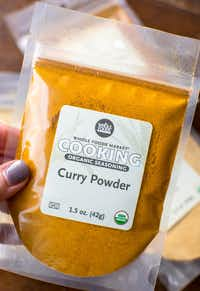Bagged spices at Whole Foods makes for an inexpensive price point.(Rebecca White)