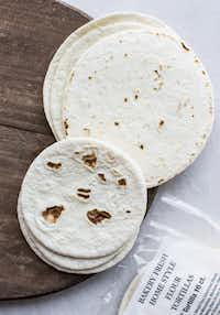 Market Street has a nice bakery-fresh 6-inch flour tortilla (that doesn't go bad within 24 hours).(Rebecca White)