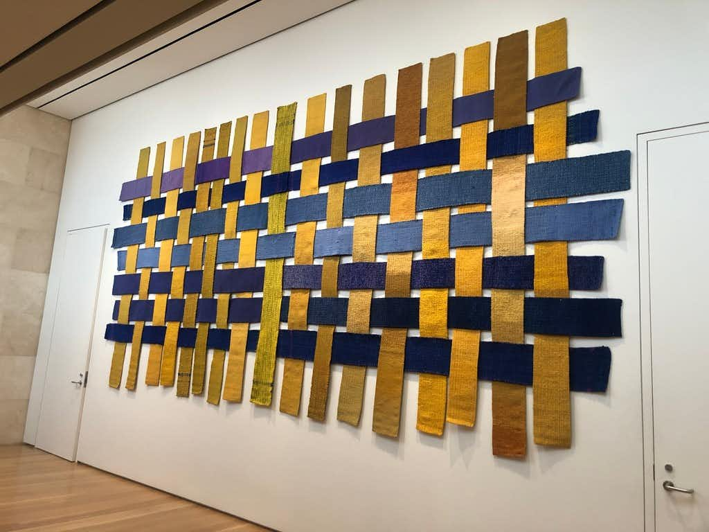 Dallas Museum of Art could snag another Sheila Hicks piece for its collection