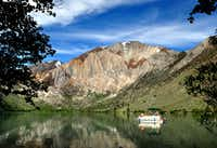 Mammoth Lakes, Calif., is surrounded by 17 lakes, many of them stocked with trout. Convict Lake takes its name from a shootout back in 1871.(Katherine Rodeghier/Special Contributor)