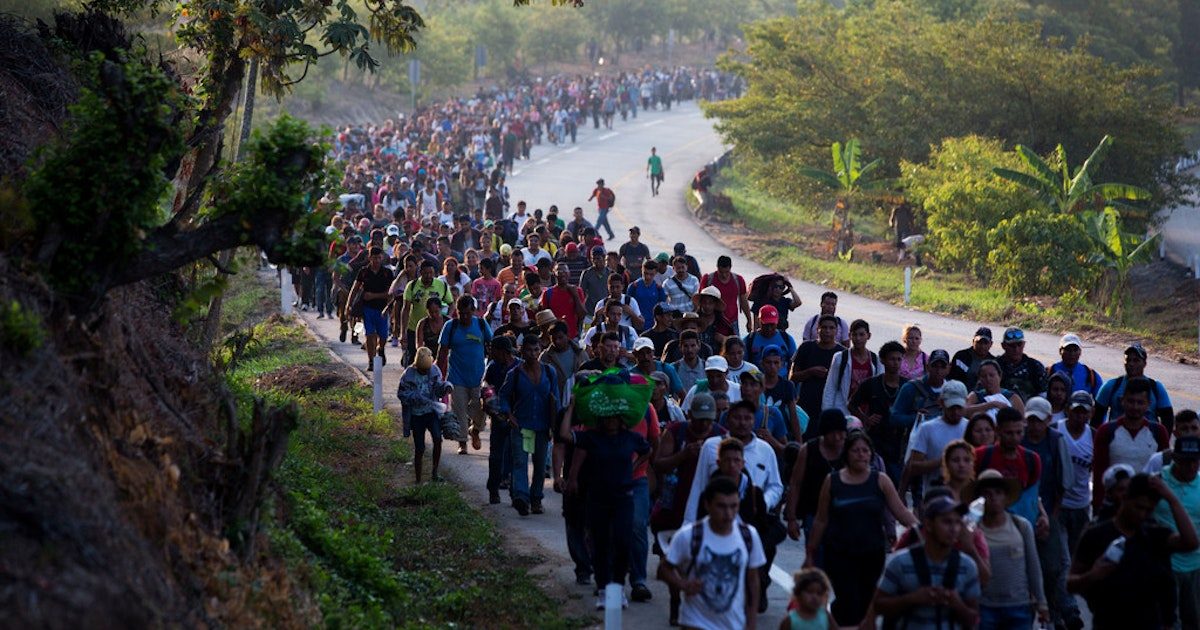 Central American caravans are not organic migrations. What forces are behind them?...