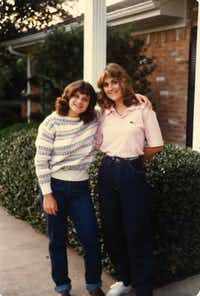 Last fall, Laura Anton and Traci Provence divulged to each other that coach Tristan Longnecker had sexually abused them when they were his players in the 1980s.(Special to The Dallas Morning News)