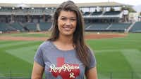 """<p>Melanie Newman used to work for the Frisco Rough Riders and now does play-by-play for&nbsp;<span style=""""font-size: 1em; background-color: transparent;"""">the Salem Red Sox as part of the first all-female broadcast team in professional baseball.&nbsp;</span></p>(File Photo)"""