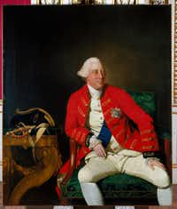 "<p><i style=""font-size: 1em; background-color: transparent;"">George III</i><span style=""font-size: 1em; background-color: transparent;"">, by </span><span style=""font-size: 1em; background-color: transparent;"">Johan Joseph Zoffany, 1771. From The British Are Coming, by Rick Atkinson.</span></p>(The Royal Collection Trust/Henry Holt/Her Majesty Queen Elizabeth II)"