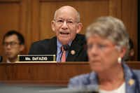 House Transportation and Infrastructure Committee Chairman Peter DeFazio, D-Ore, cited a recent <i>Dallas Morning News</i> report to grill top FAA officials over the Boeing 737 Max 8.(Chip Somodevilla/Getty Images)