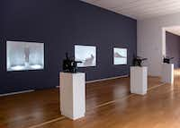 """Films by Bas Jan Ader and Jack Goldstein are projected at a current exhibition at the Modern titled """"Disappearing — California, c. 1970.""""(Bas Jan Ader and Jack Goldstein)"""