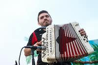 """<p><span style=""""font-size: 1em; background-color: transparent;""""></span></p><p>Eduardo Garza Jr. plays Conjunto music during La Joya ISD's """"Dia del Niño"""" festival on April 30, 2019 in La Joya, Texas. Garza won the&nbsp;<span style=""""font-size: 1em; background-color: transparent;"""">the annual Big Squeeze accordion competition on May 11 in Austin and now is among the competitors at the grand Tejano Conjunto Festival in San Antonio.</span></p><p></p>(Ryan Michalesko/Staff Photographer)"""