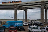 The Express South parking lot at DFW Airport is seen after it was announced that the location would be the site where the airport will be adding a new terminal on Monday, May 20, 2019.(Smiley N. Pool/Staff Photographer)