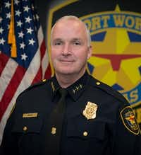 Ed Kraus has been named Fort Worth's interim police chief(Fort Worth Police Department)