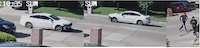 Dallas police are asking for help identifying two people suspected in a robbery and shooting Sunday in Buckner Terrace.(Dallas Police Department)