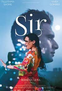Sir film poster. Credit: DFW South Aisan Film Festival