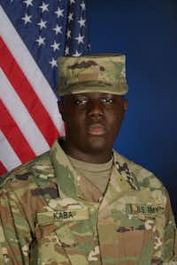 Pfc. Mamady Kaba(Fort Bliss Public Affairs Office)