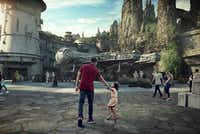 Star Wars: Galaxy's Edge will open May 31 at Disneyland Park in Anaheim, Calif., and Aug. 29 at Disney's Hollywood Studios in Lake Buena Vista, Fla.(Disney Parks/Tribune News Service)
