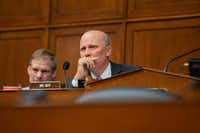 U.S. Rep. Chip Roy (R-TX) listens during a House Civil Rights and Civil Liberties Subcommittee hearing on confronting white supremacy at the U.S. Capitol on May 15, 2019 in Washington, DC. During the hearing, subcommittee members and witnesses discussed the impact on the communities most victimized and targeted by white supremacists. (Anna Moneymaker/TNS)